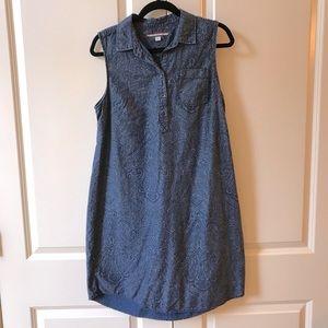 3/$30 👗 Tommy Hilfiger denim paisley print dress